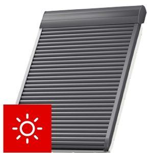 Roleta zewnętrzna SSL VELUX sterowanie solarne
