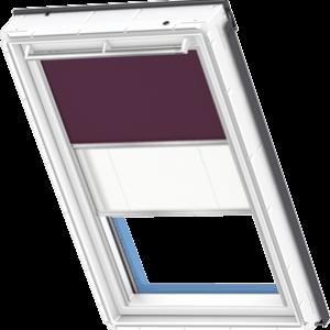 Roleta DFD VELUX zaciemniająco - plisowana kolory premium