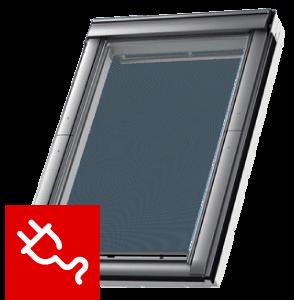 Markiza MML VELUX sterowana elektrycznie  kolor czarny