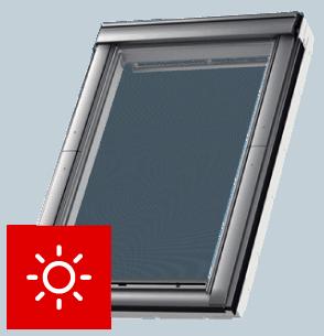 MarkizaMSL VELUX sterowana solarnie kolor czarny