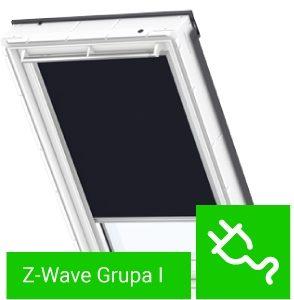 Rolety Fakro ARP Z-Wave kolory grupa I sterowane elektrycznie
